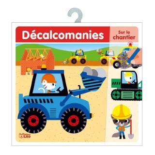 Sur le Chantier Mes Premières Décalcomanies 4 à 6 ans Éditions Lito 343620
