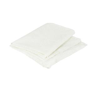 Nappe blanche à imprimé flocons 145x300 cm 344380