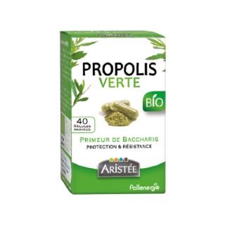 Propolis verte de baccharis bio en étui de 40 gélules 344412