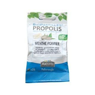 Biopastilles propolis et menthe poivrée en sachet de 15 g 344415