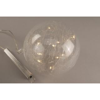 Boule lumineuse 15 cm 344821