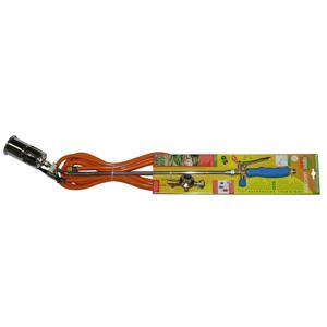 Désherbeur thermique à lance pro bleu acier et PVC 100 cm 345232