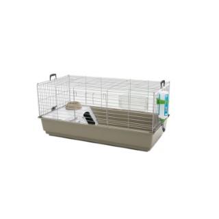 Cage Nero 3 De Luxe Lounge Gris 100x50x45 cm 34659