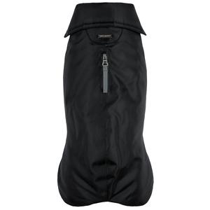 Manteau imperméable pour chien noir polyester Wouapy – Taille 28 346833