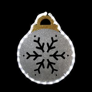 Boule lumineuse argentée Ball 348511