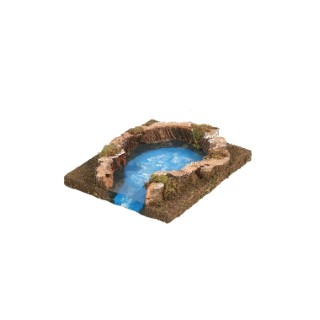 Lac pour fleuve modulable 16 x 14 x 4 cm 348814