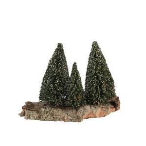 Montagne avec 4 pins 21 x 12 x 14 cm 348815