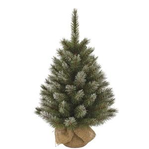 Arbre de Noël Toile de jute H 90 cm 348846