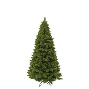 Sapin de Noël artificiel vert Camden Slim 185 cm 348857