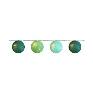 guirl.20 boules coton camaïeu vert 24v 348932