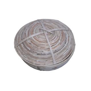 Boite conique en osier Ø 33 x H 24 cm 349008