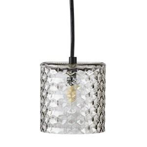 Lampe plafonnier en verre fumé H 12 x Ø 11 cm 349139