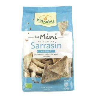 Mini galettes de sarrasin nature - 100 gr 349336