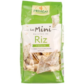 Mini galettes de riz nature - 120 gr 349337
