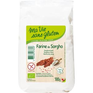 Farine de sorgho bio en sachet de 500 g 349349