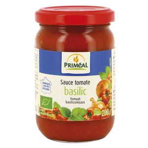 Sauce tomate au basilic bio en pot de 200 g 349380
