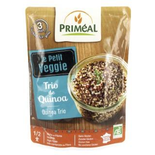 Repas trio de quinoa bio en doypack de 220 g 349383
