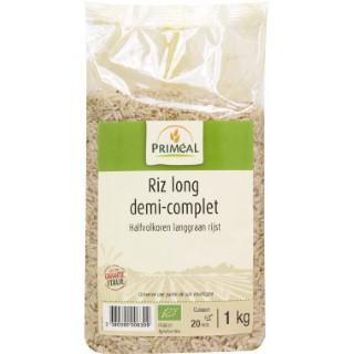 Riz long demi complet bio - 1 kg 349392