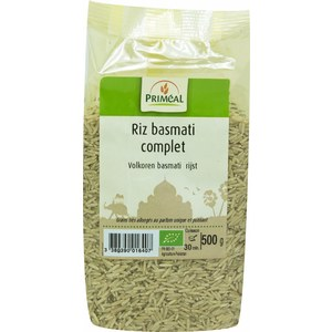 Riz basmati complet bio en sachet de 500 g 349396
