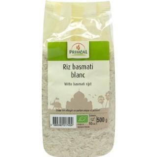Riz basmati blanc bio en sachet de 500 g 349397