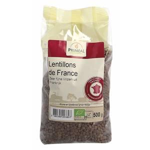 Lentillons de France bio en sachet de 500 g 349406