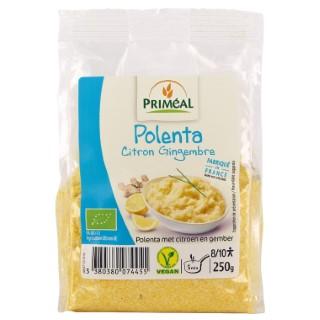 Polenta au citron et au gingembre bio en sachet de 250 g 349419