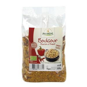 Boulgour au poivron et piment bio en sachet de 300 g 349425