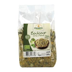 Boulgour ortie et fenouil bio en sachet de 300 g 349427