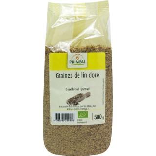 Graines de lin doré bio en sachet de 500 g 349438