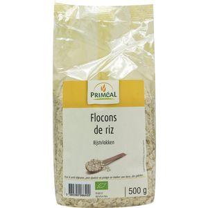 Flocons de riz bio en sachet de 500 g 349452