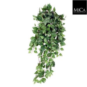 Scindapsus artificiel vert en chute 80x30x15 cm 350213