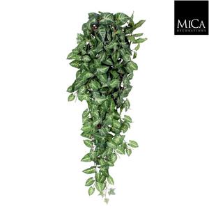 Fittonia artificiel vert en chute 80x30x15 cm 350214