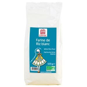 Farine de riz blanc bio en sachet de 500 g 351434