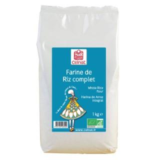 Farine de riz complet bio en sachet de 1 kg 351437