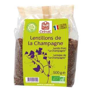 Lentillons de la Champagne bio en sachet de 500 g 351449
