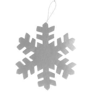 Flocon de neige à paillettes - 30 cm 352283