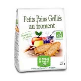 Petits pains grillés au froment bio 225 g 354739