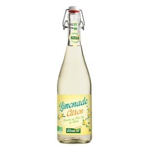 Limonade bio au jus de citron 75 cl 354957