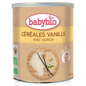 Céréales vanille bio BABYBIO 220 g 355055