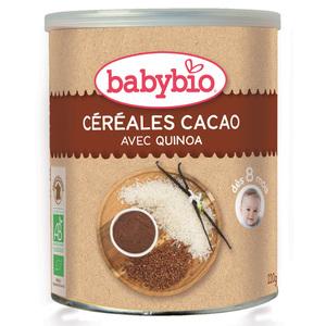 Céréales cacao bio BABYBIO 220 g 355056