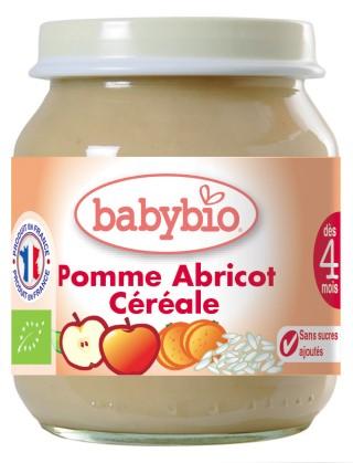 Ppot pomme-abricot-céréale bio 355076