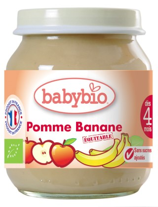 Ppot pomme-banane bio 355080