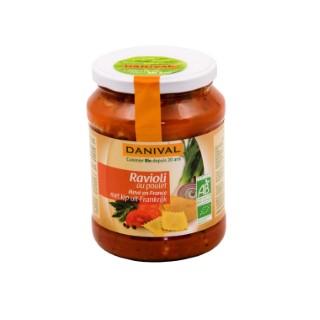 Raviolis au poulet d'origine française DANIVAL 670 g 355169