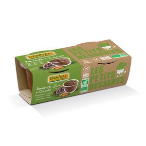 Dessert Amande et cacao bio équitable 220 g DANIVAL 355230