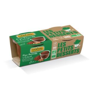 Flan amande et cacao bio équitable 220 g DANIVAL 355233