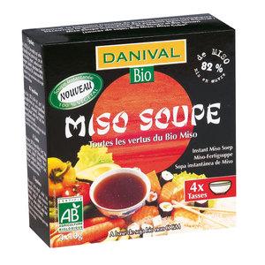 Miso soupe DANIVAL 4x10 g 355274