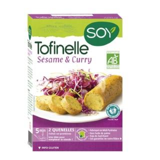 Tofinelles au sésame et au curry bio 200 g 355451