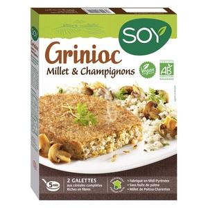 Grinioc au millet et aux champignons bio 200 g 355466