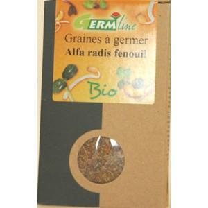 Graines à germer bio alfa, radis, fenouil -  150 g 355651