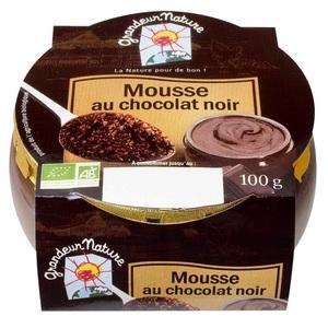 Mousse au chocolat noir - 100 g 355744